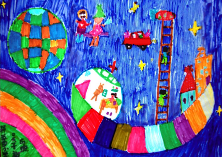 детские рисунки домов: