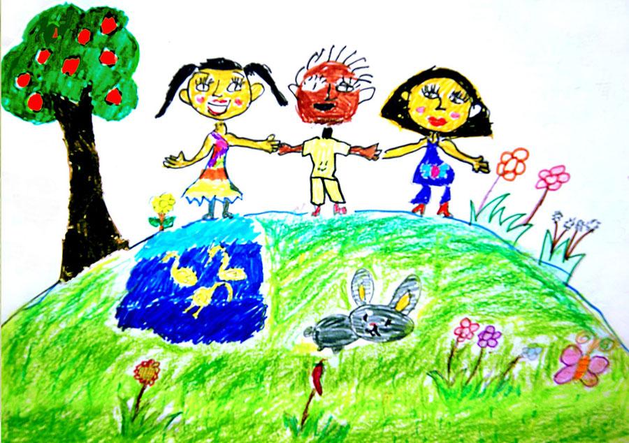Детские рисунки о будущем