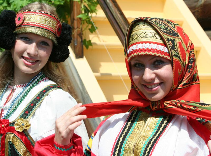 Костюм русской девушки