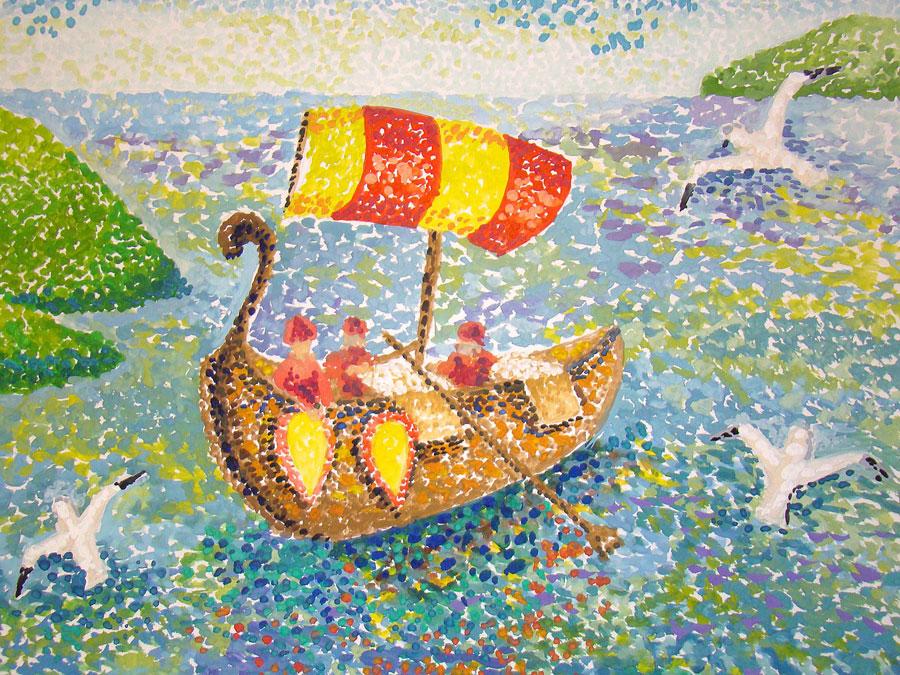 Корабли, детские рисунки : Конкурс Славное море: http://pribaikal.ru/umc-baikal-albums/gallery/0/351.html