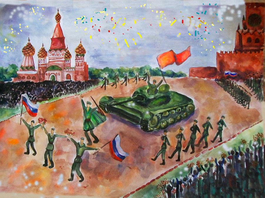 Конкурс рисунков к победы в великой отечественной войне