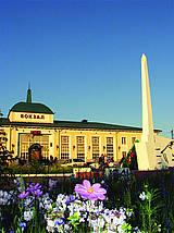 Вокзал города Тайшет