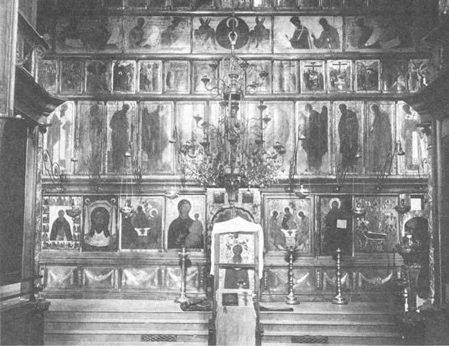 Троицкого собора в троице сергиевой