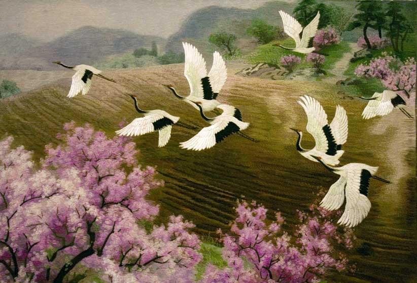 Искусство северной кореи кндр в